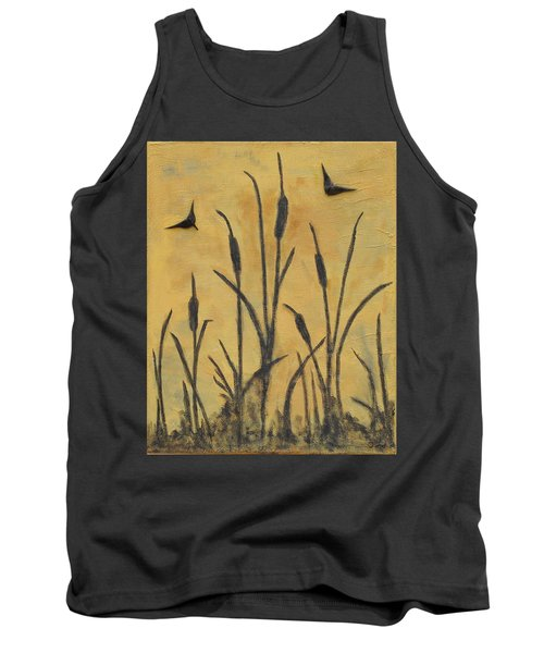 Cattails I Tank Top by Trish Toro