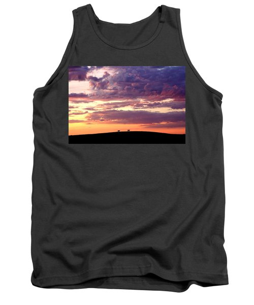 Cattle Ridge Sunset Tank Top