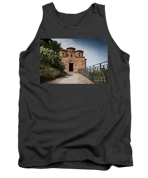 Tank Top featuring the photograph Cattolica Di Stilo by Bruno Spagnolo