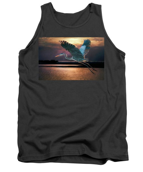 Caught In The Afterglow Tank Top
