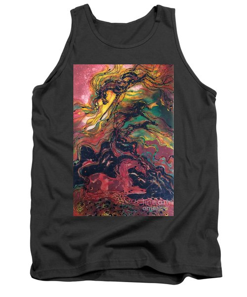 Caught In The Thunderstorm Tank Top