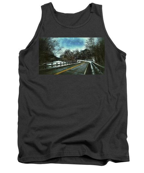 Caution Two Tank Top