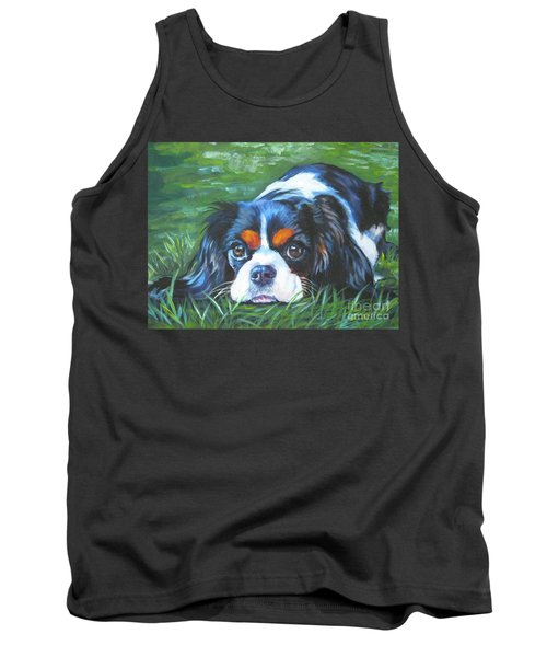 Cavalier King Charles Spaniel Tricolor Tank Top
