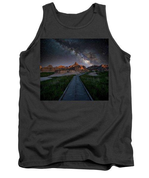 Tank Top featuring the photograph Cedar Pass Milky Way by Darren White