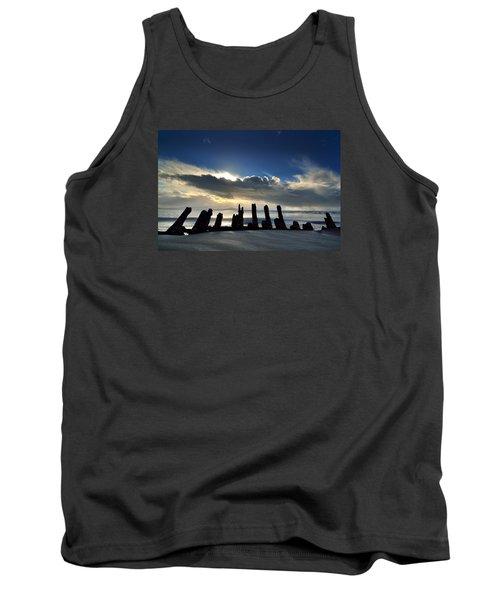 Cefn Sidan Beach 5 Tank Top