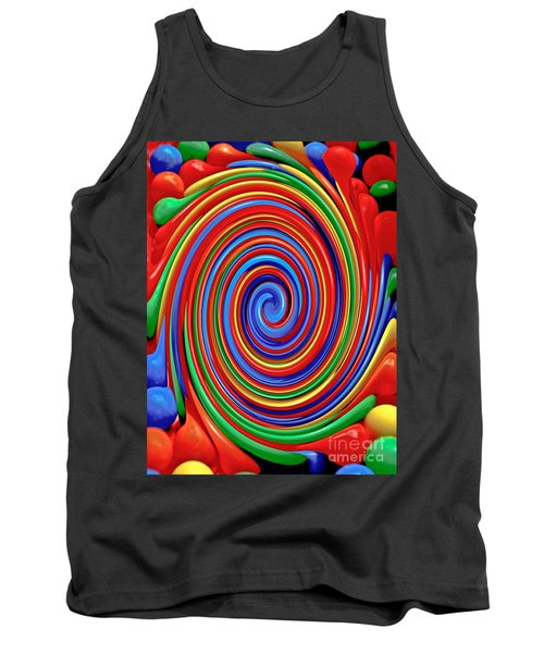 Celebrate Life And Have A Swirl Tank Top