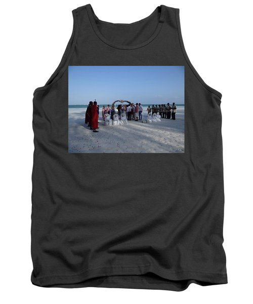 Celebrate Marriage On The Beach Tank Top