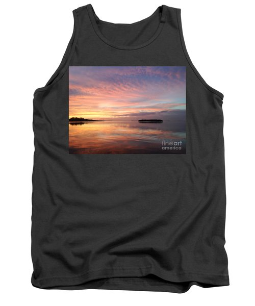 Celebrating Sunset In Key Largo Tank Top