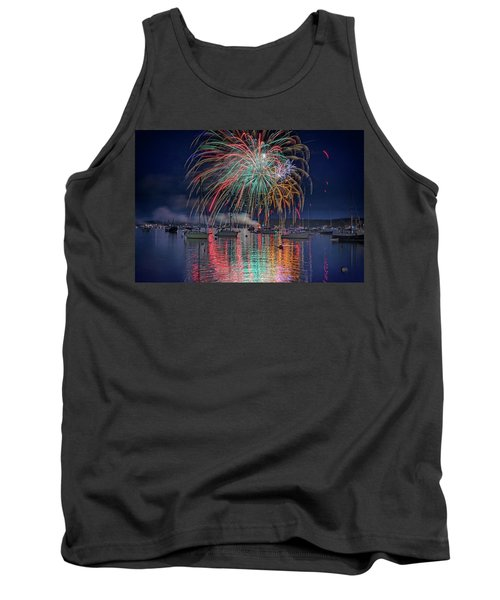 Tank Top featuring the photograph Celebration In Boothbay Harbor by Rick Berk