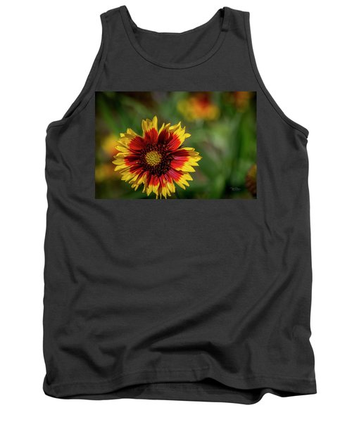 Celebration Of Yellow And Red Tank Top