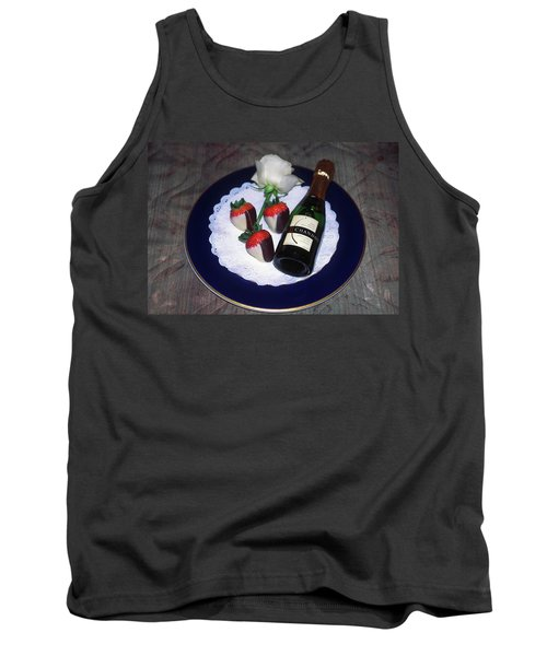Celebration Plate Tank Top by Sally Weigand
