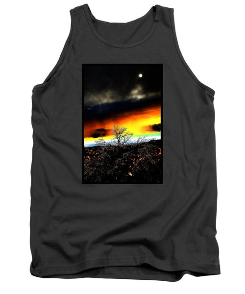 Tank Top featuring the photograph Celestial Tsunamis by Susanne Still