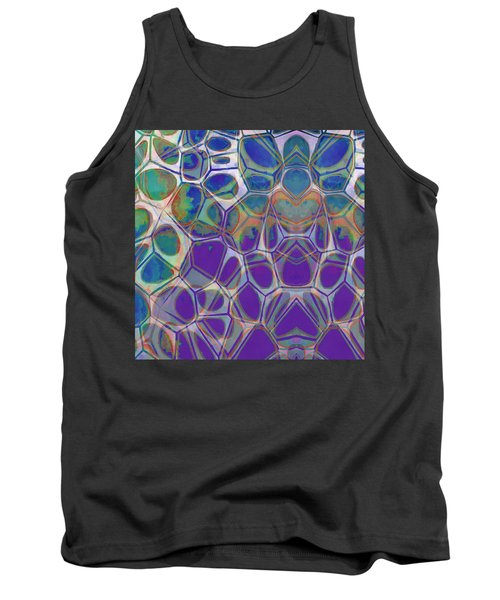 Cell Abstract 17 Tank Top