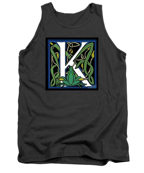 Celt Frog Letter K Tank Top