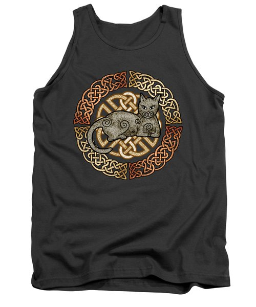 Celtic Cat Tank Top