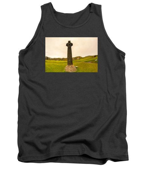Celtic Cross, Isle Of Iona Tank Top