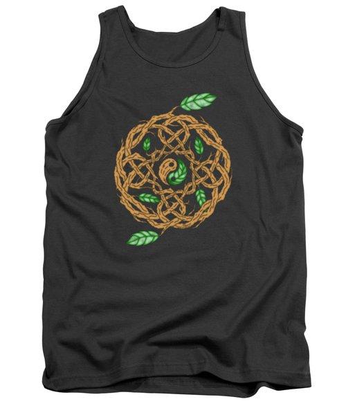 Celtic Nature Yin Yang Tank Top