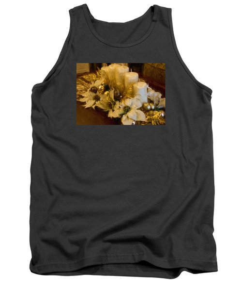 Centerpiece For Christmas Tank Top by Cathy Jourdan