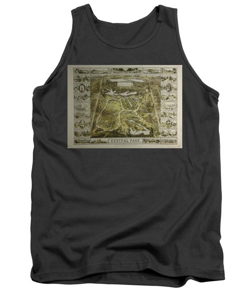 Central Park 1863 Tank Top by Duncan Pearson