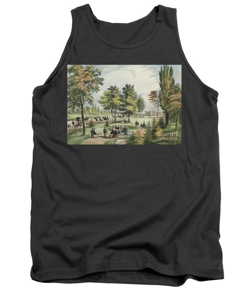 Central Park  The Drive, 1862 Tank Top
