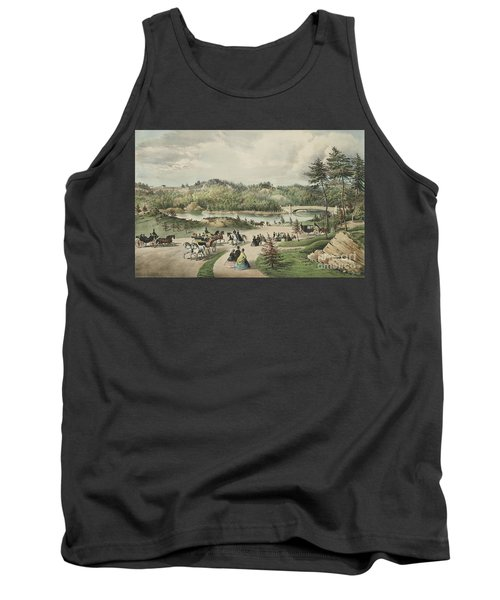 Central Park  The Lake, 1862  Tank Top