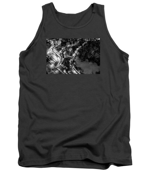 Tank Top featuring the photograph Central Park Trails by M G Whittingham