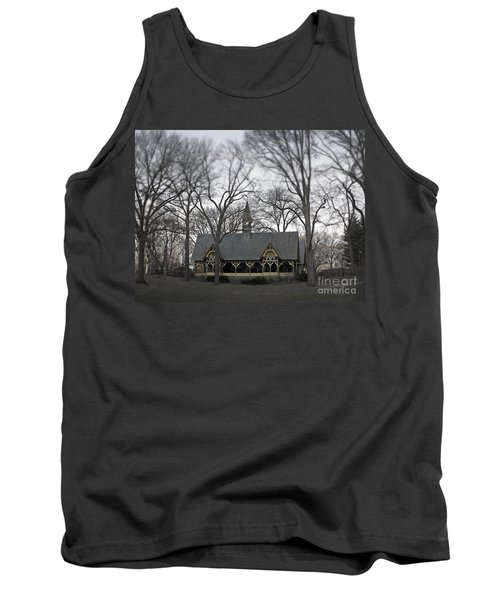 Centrally Located Tank Top