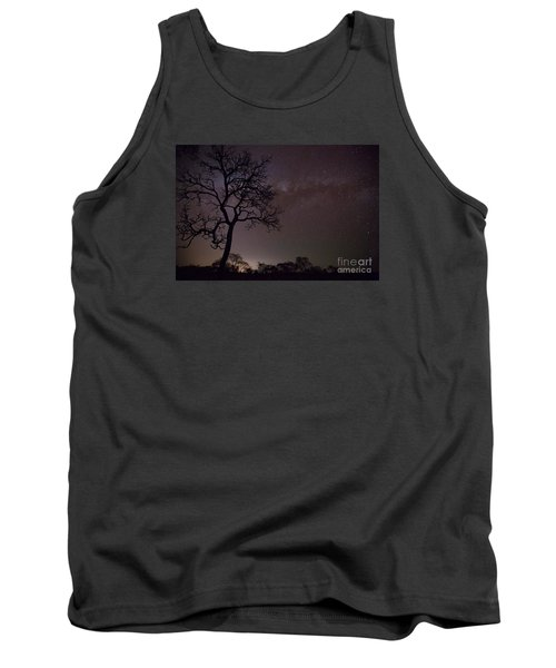 Tank Top featuring the photograph Cerrado By Night by Gabor Pozsgai