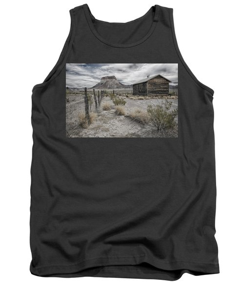 Cerro Castellan - Big Bend  Tank Top