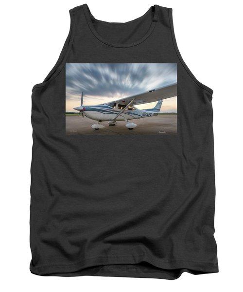 Cessna 182 On The Ramp Tank Top