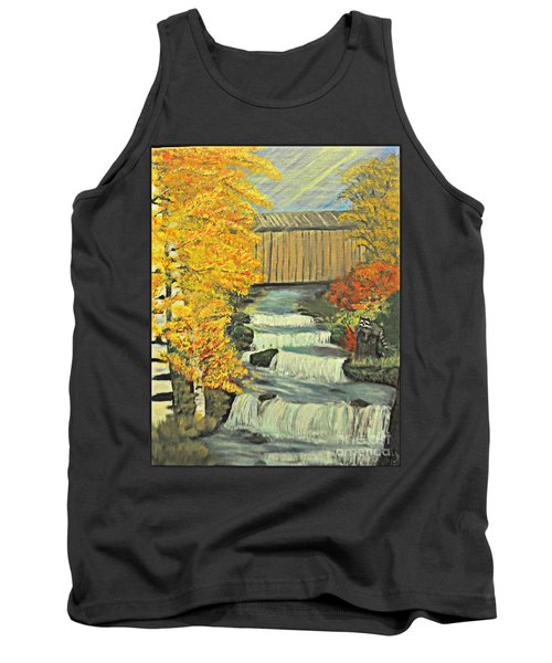 Chambers Covered Bridge  Tank Top