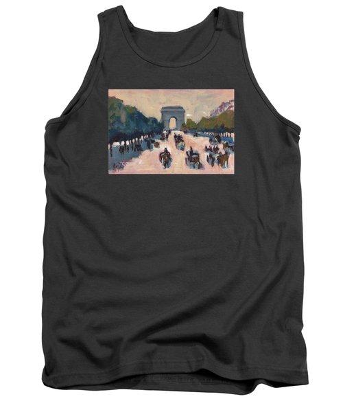 Champs Elysees Paris Tank Top by Nop Briex