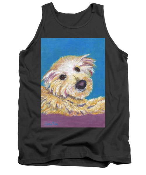 Tank Top featuring the painting Chance by Jamie Frier