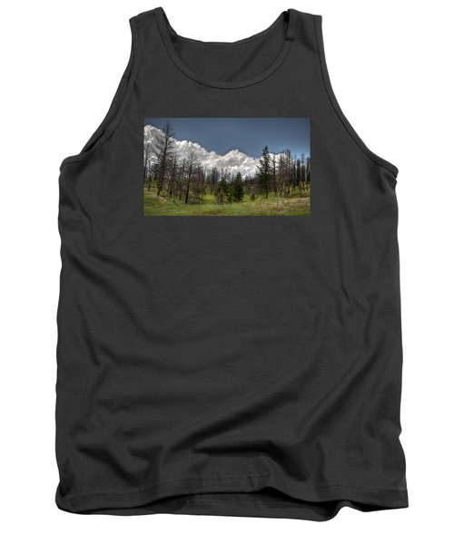 Tank Top featuring the photograph Chance Of Clouds by Deborah Klubertanz