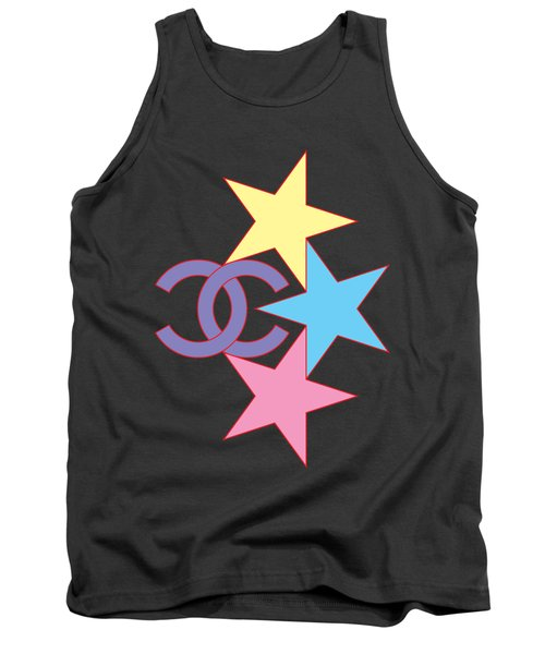 Chanel Stars-2 Tank Top