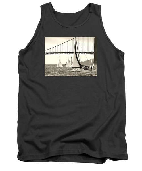 Changes In Attitude Tank Top by Scott Cameron
