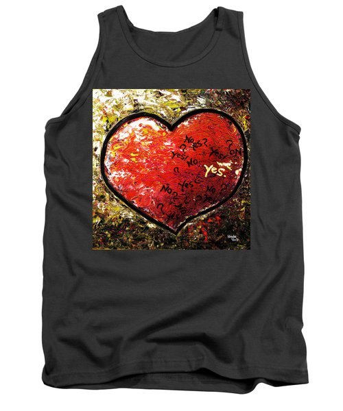 Chaos In Heart Tank Top