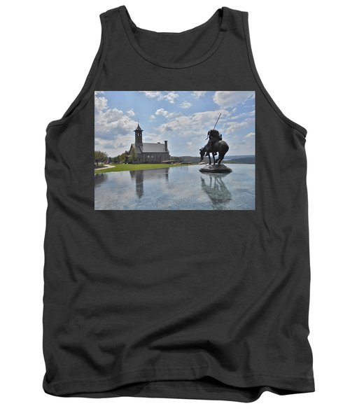 Chapel And Infinity Pool Tank Top by Julie Grace