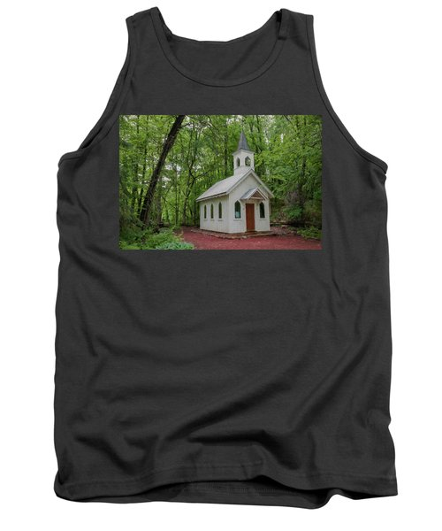 Chapel In The Woods 1 Tank Top by Trey Foerster