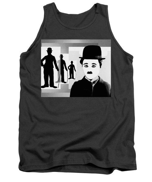 Chaplin, Charlie Chaplin Tank Top by Hartmut Jager
