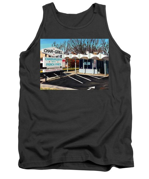 Char Grill Hillsborough St Tank Top
