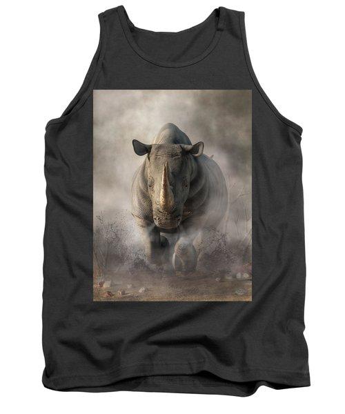 Charging Rhino Tank Top