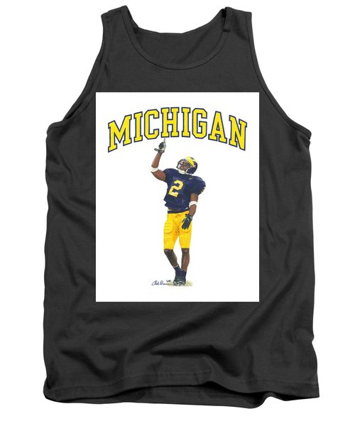Charles Woodson Tank Top