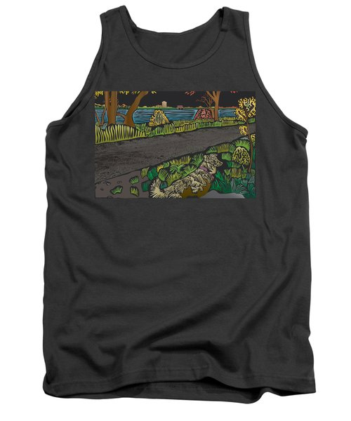 Charlie On Path Tank Top