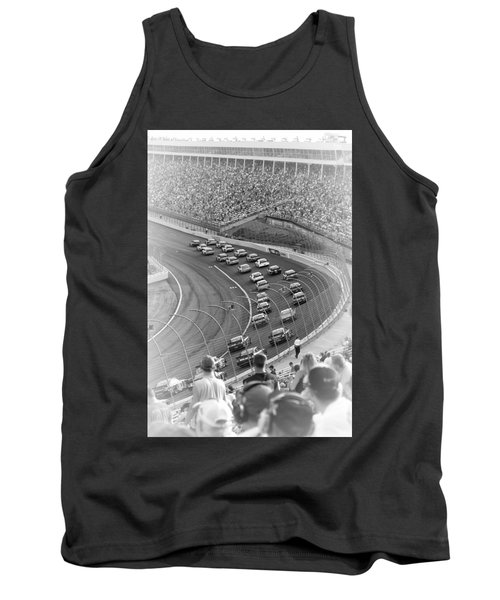 A Day At The Racetrack Tank Top