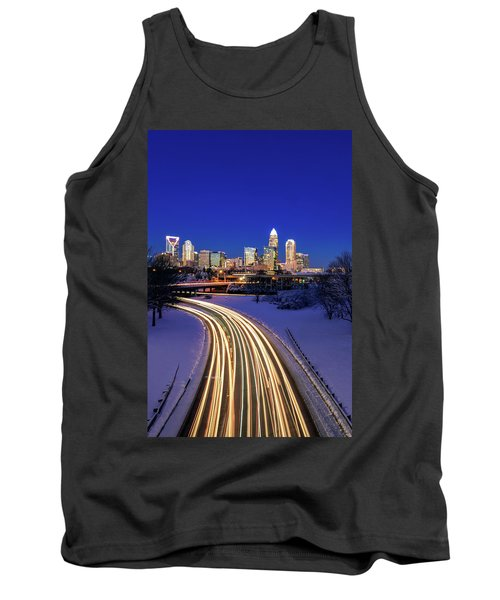 Charlotte Winter Skyline Tank Top