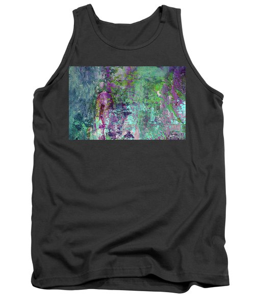 Chasing The Dream - Contemporary Colorful Abstract Art Painting Tank Top