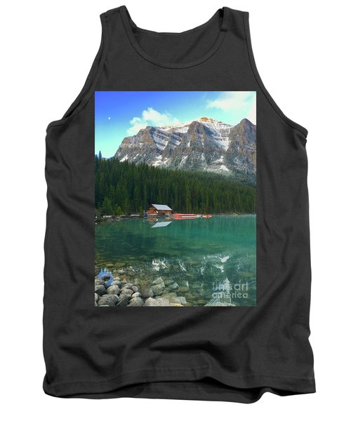 Chateau Boat House Tank Top