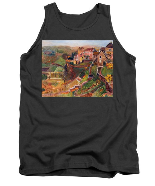 Chateau Chalon Tank Top by Michael Helfen