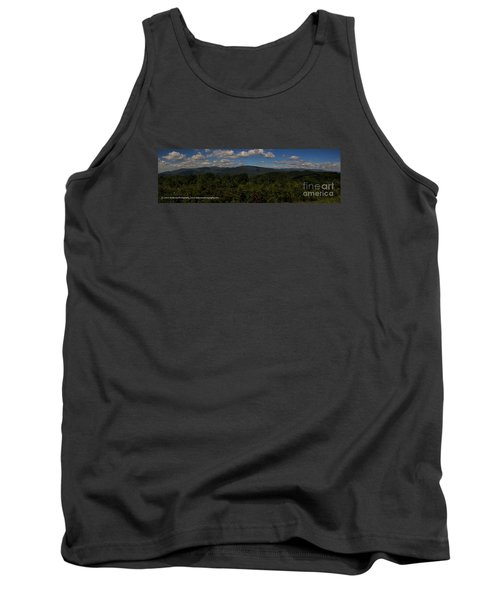 Tank Top featuring the photograph Chattahoochee Forest Overlook by Barbara Bowen